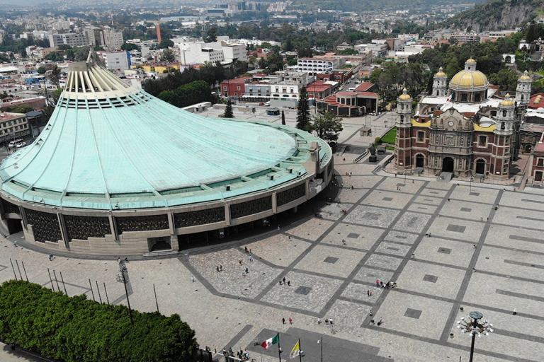 história da Basílica de Guadalupe México