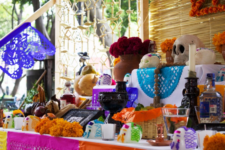Altar do Dia de los Muertos