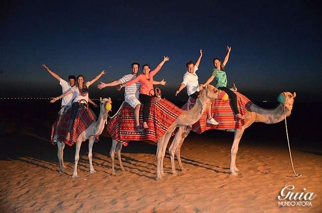 Camelo no Safari em Dubai
