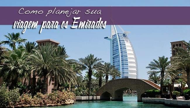 Planejar viagem para ps Emirados
