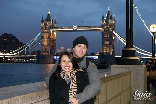 Tower Bridge à noite