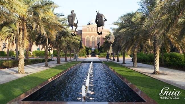 Parte externa Emirates Palace