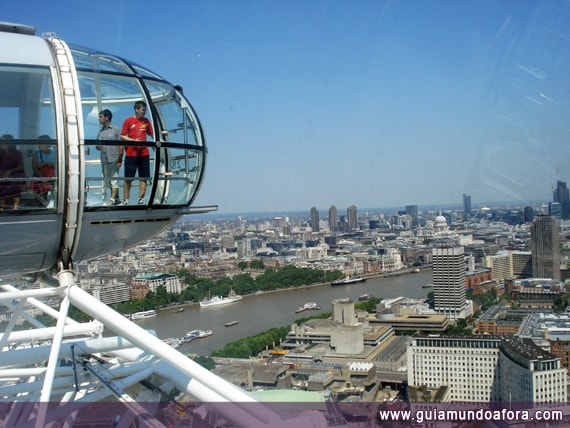 London Eye no verão