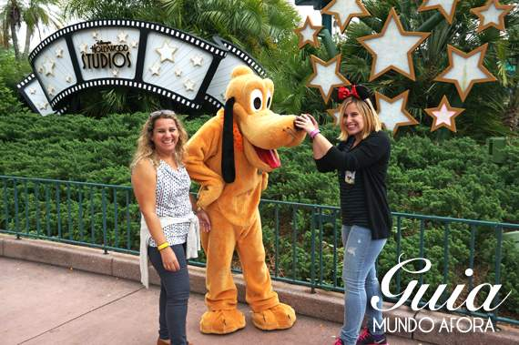 Onde encontrar personagens Hollywood Studios na Disney?
