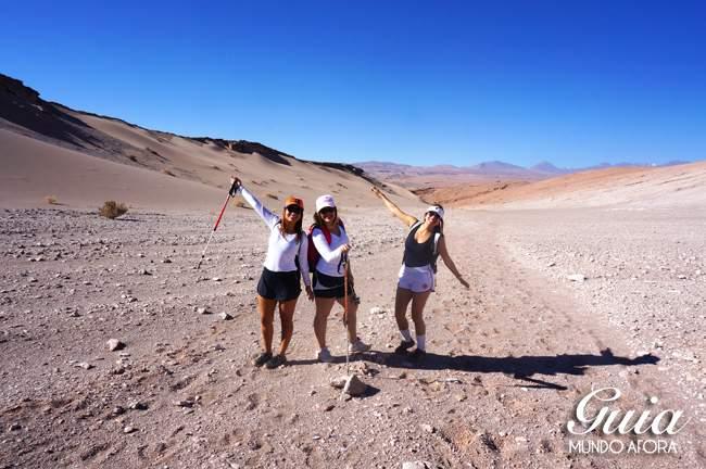 Meninas no Trekking Cuchabrache Deserto do Atacama Chile