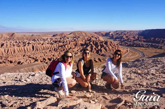 Vista do Trekking Cuchabrache Deserto do Atacama Chile