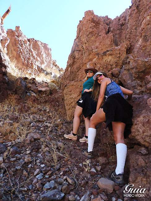 Trekking guatin no Atacama