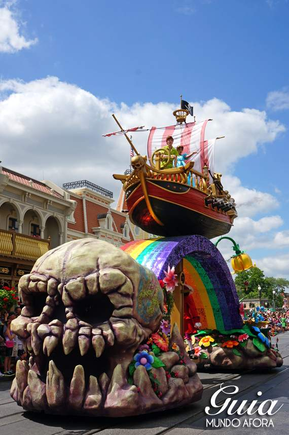 Festival of Fantasy, a parada do Magic Kingdom