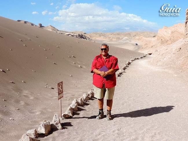 Guia turístico Valle de la Luna