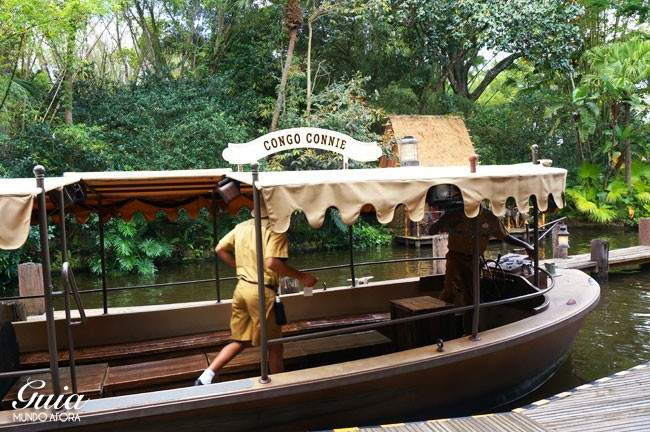 Barco do Jungle Cruise