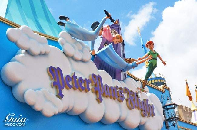 Peter Pan's Flight Magic Kingdom