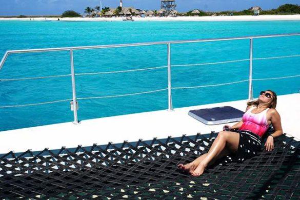 Passeio de barco a Klein Curaçao