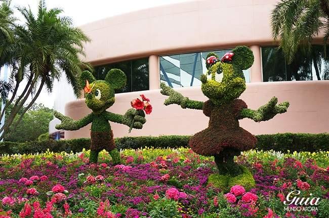 Mickey e Minnie Flower and Garden Festival Epcot