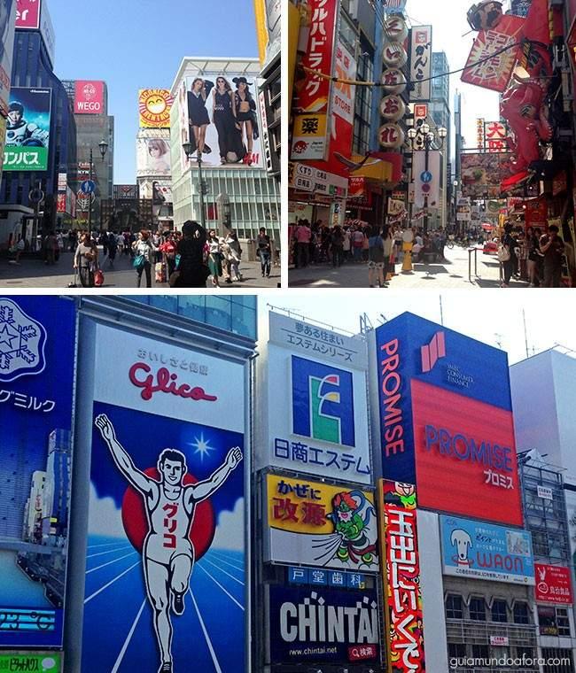 Dotombori compras em Osaka