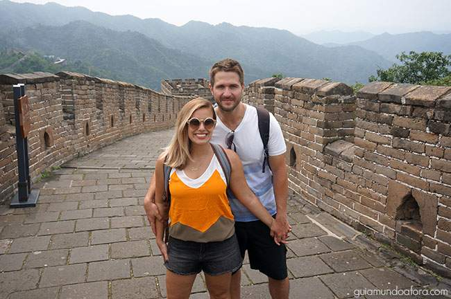 muralha da China vazia