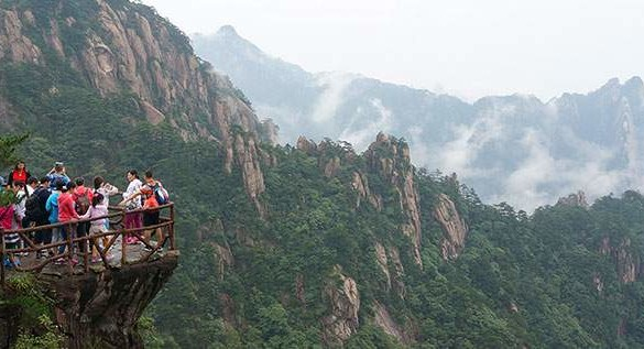 Subindo as Yellow Mountains na China (com vídeo)
