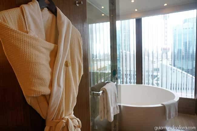Banheiro hotel em Xangai