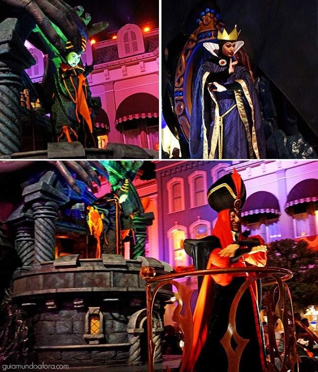 Parada de Halloween da Disney no MK