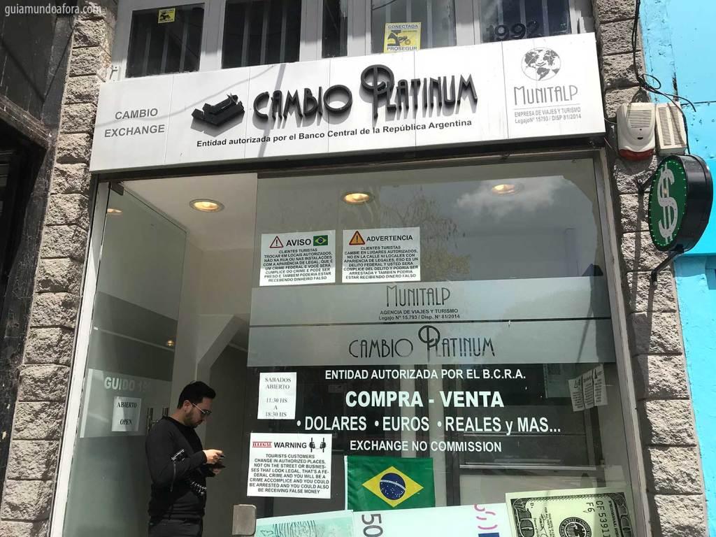 moeda da Argentina