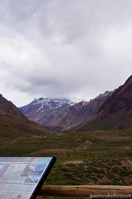Montanhas aconcagua