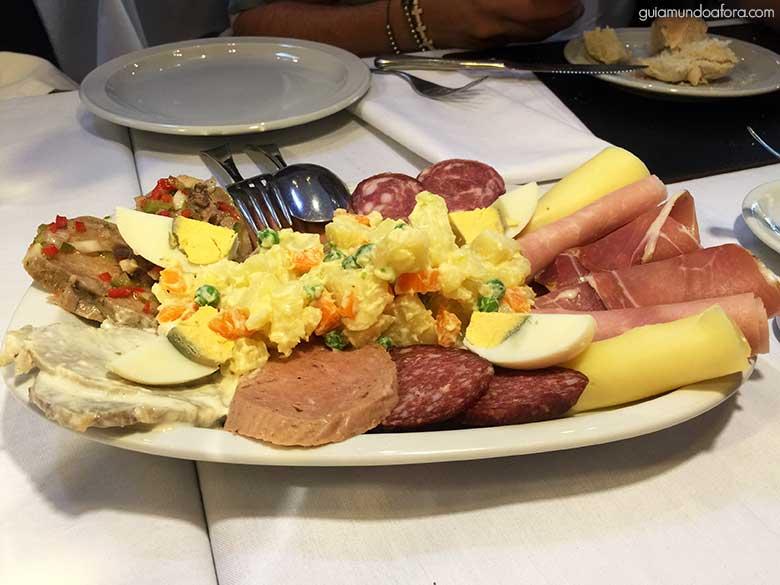 comer em Mendoza