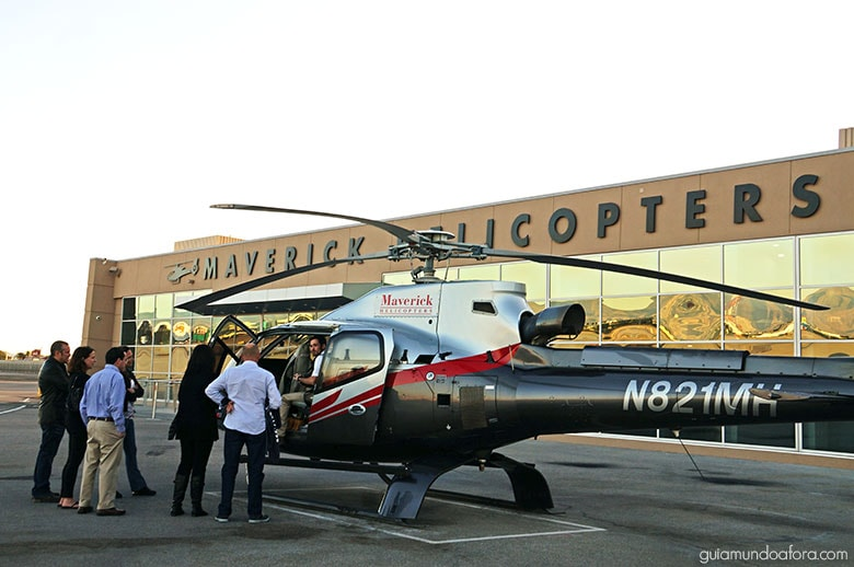 Helicóptero em Las Vegas