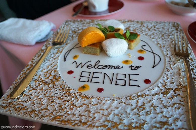 Sense, restaurante do Mandarin Oriental