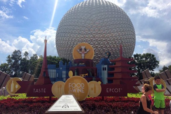 Food and Wine Festival: evento de comidas no Epcot