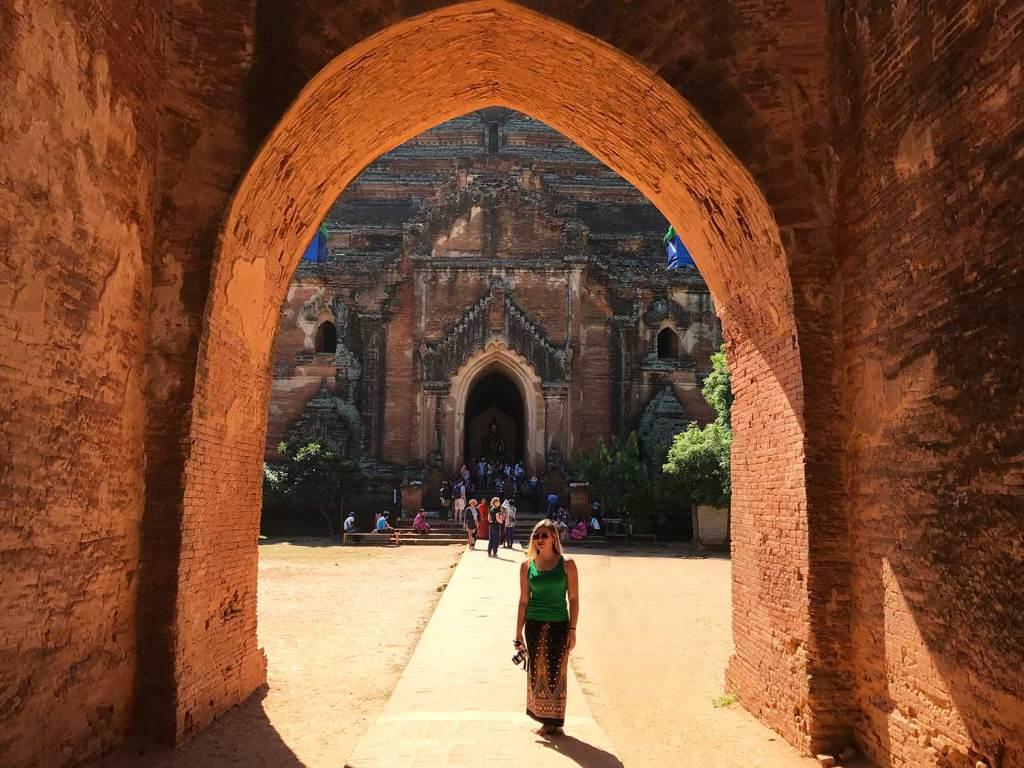 Viagem para Mynamar de longyi