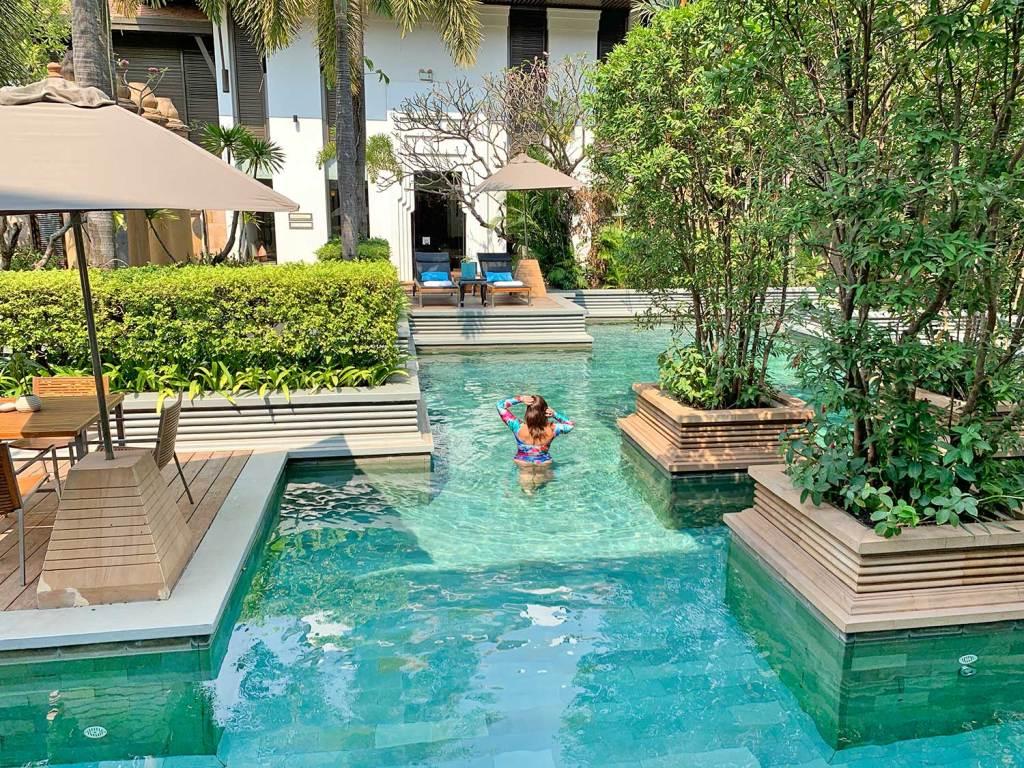 Piscina Park Hyatt Siem Reap Camboja