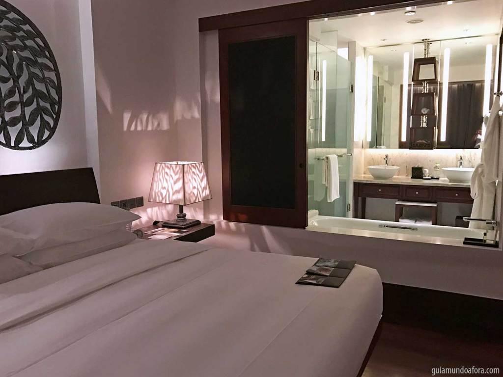 Quarto do hotel Park Hyatt Siem Reap
