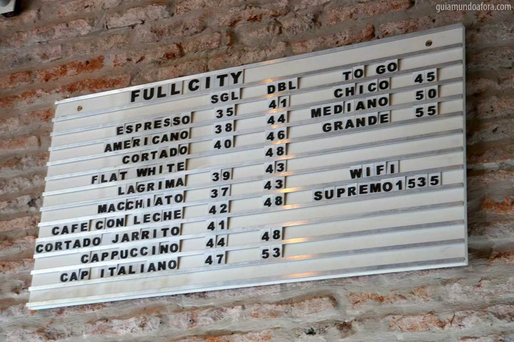 Preços em Buenos Aires