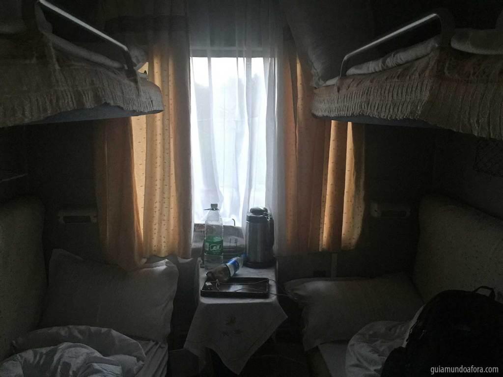 trem noturno na China