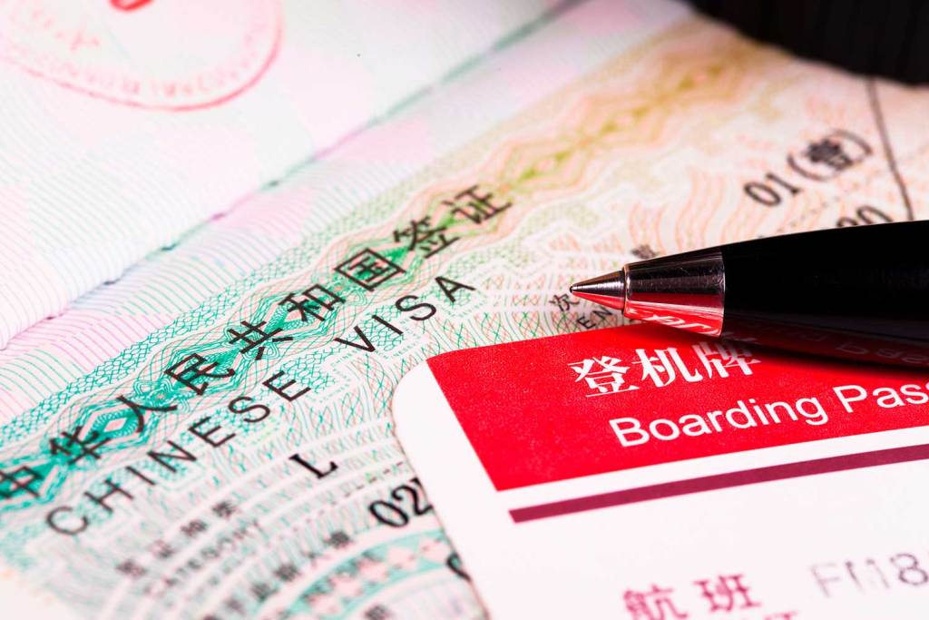 novidades sobre o Visto da China