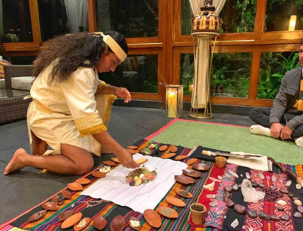 ritual pago a la tierra sumaq