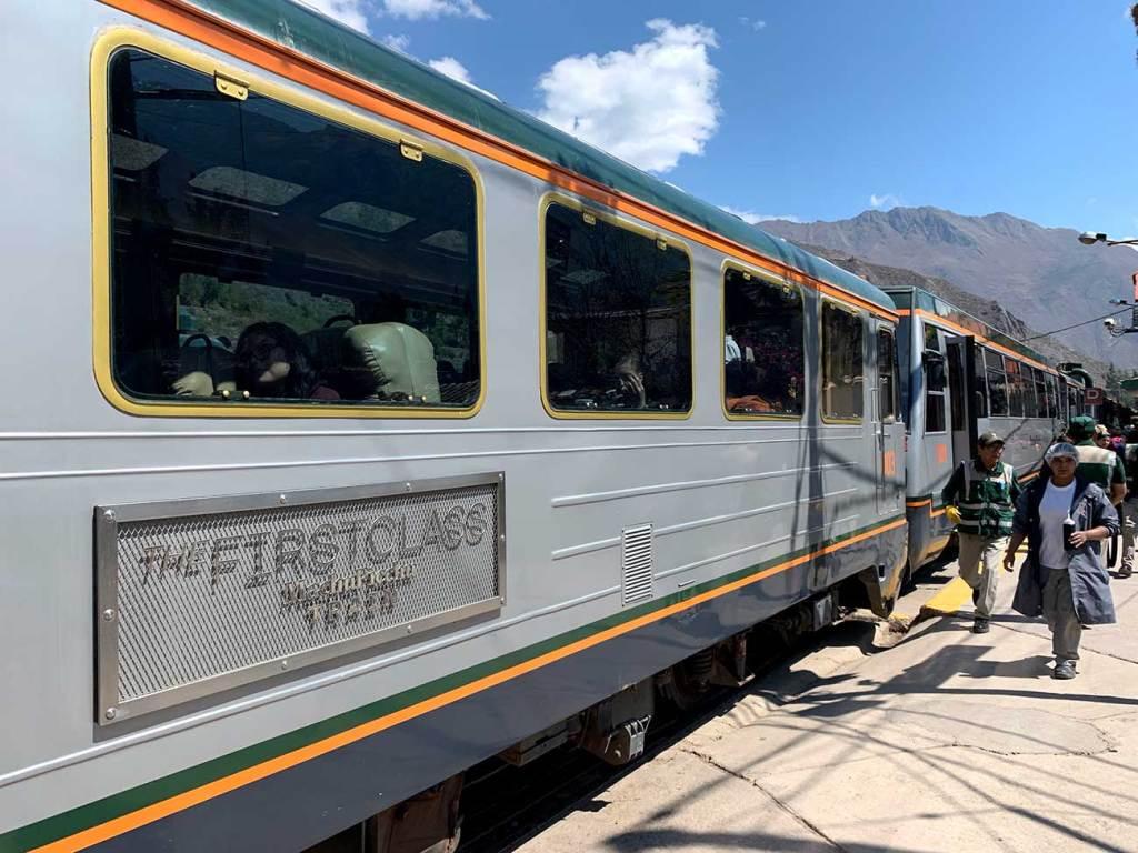 Trem 1ª Class Inca Rail
