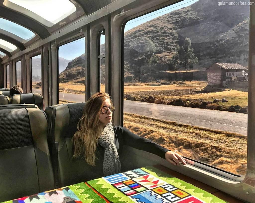 Trem Peru Rail Vistadome