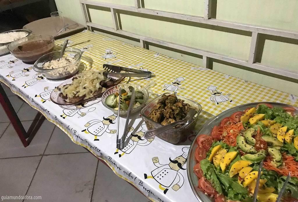 comida nas Serras Gerais