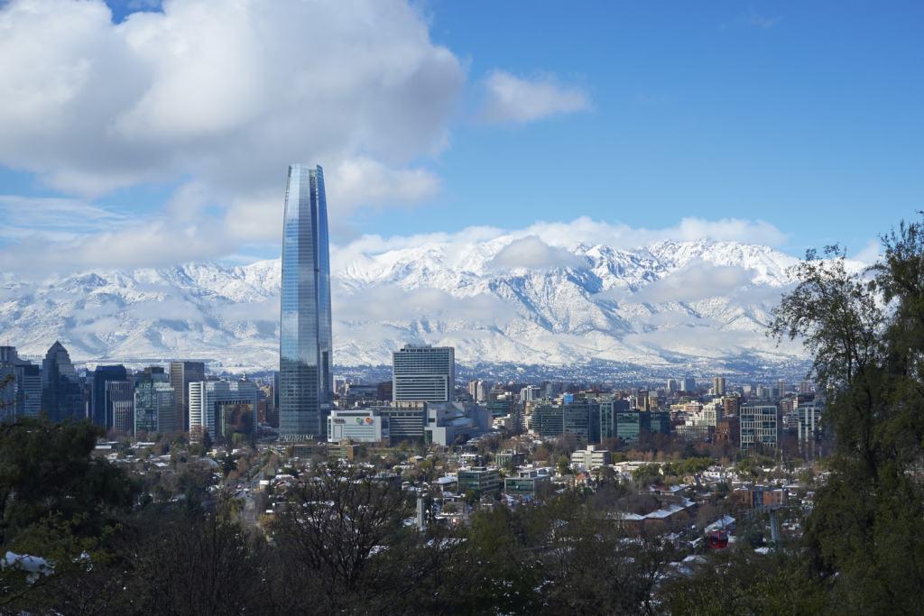 temperatura em Santiago