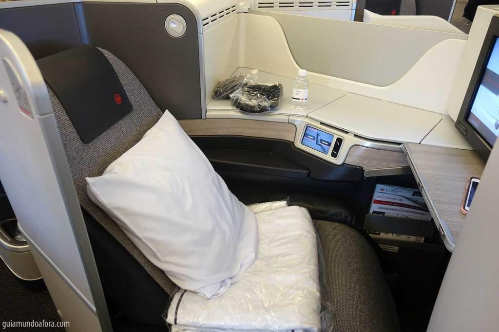 Classe Executiva da Air Canada