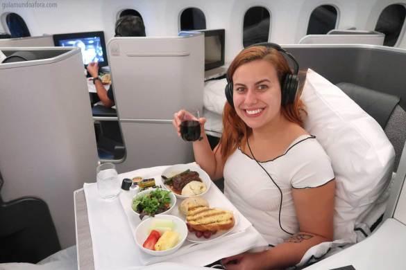 Business Class da Air Canada