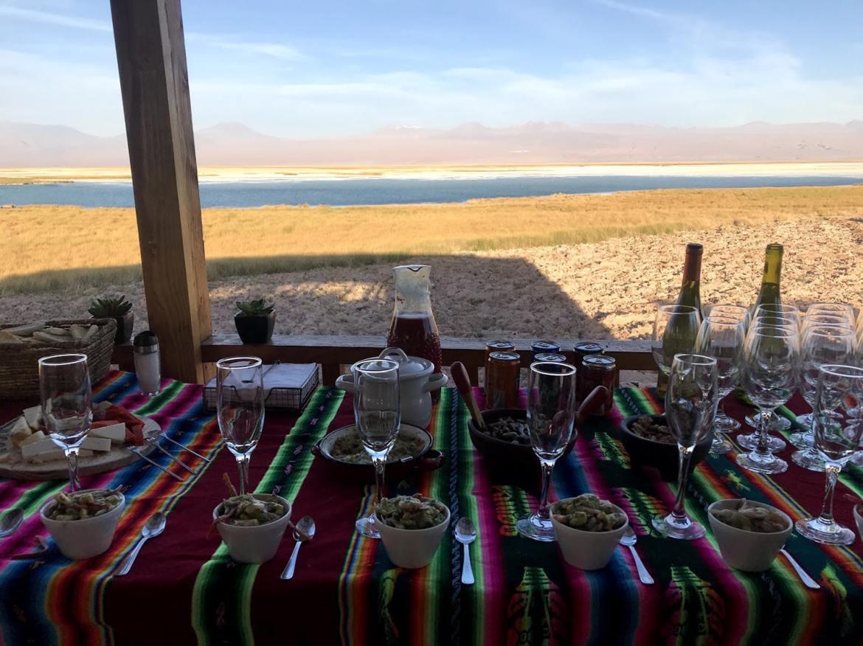 Laguna Tebinquiche no Deserto do Atacama