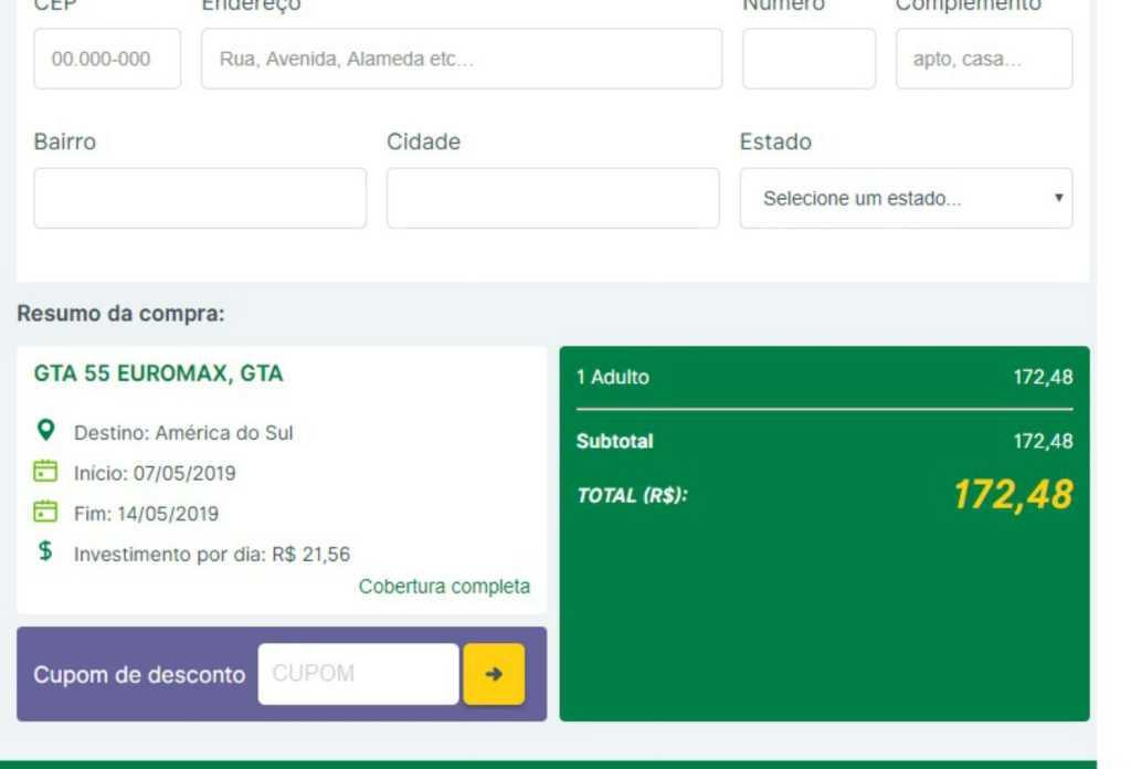 Comprar assistência viagem no Chile
