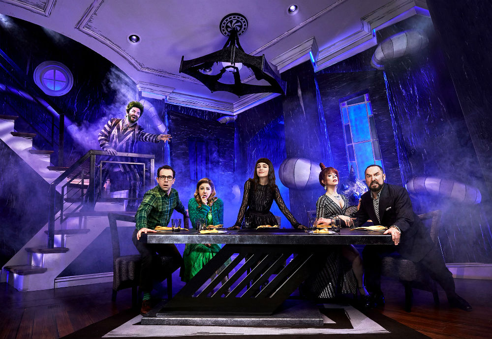 foto do espetáculo Beetlejuice