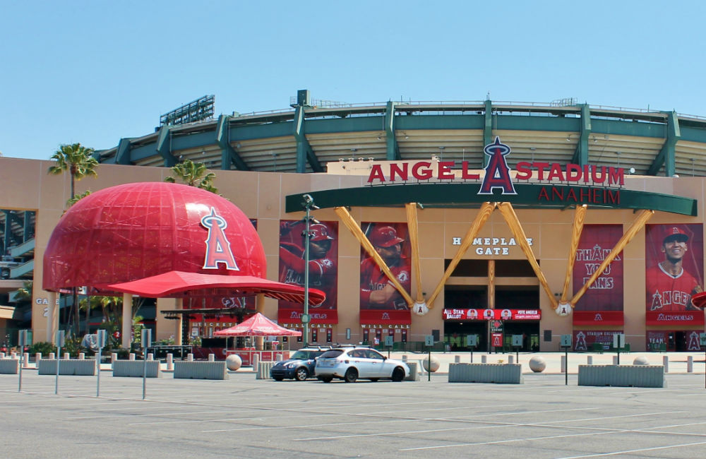 Estádio de beisebol de Anaheim