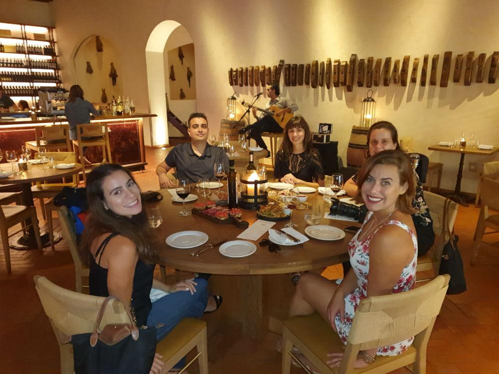 jantar no Enoteca em Miami