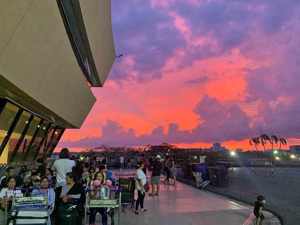 aeroporto de Manila