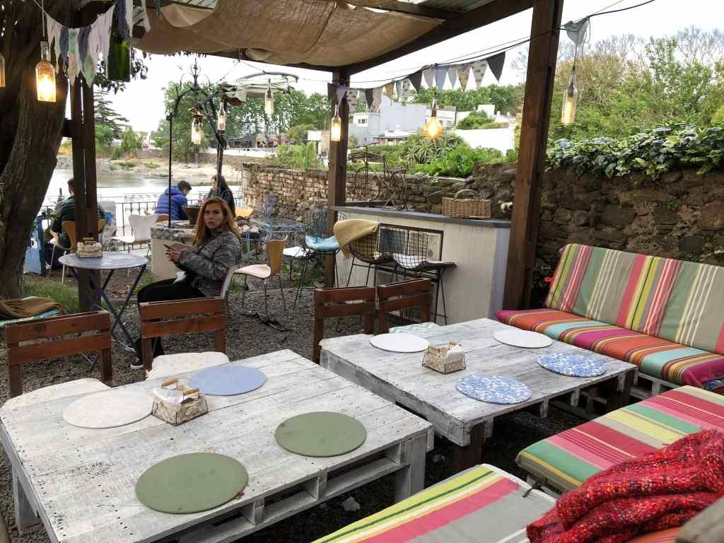 interior do restaurante gitana