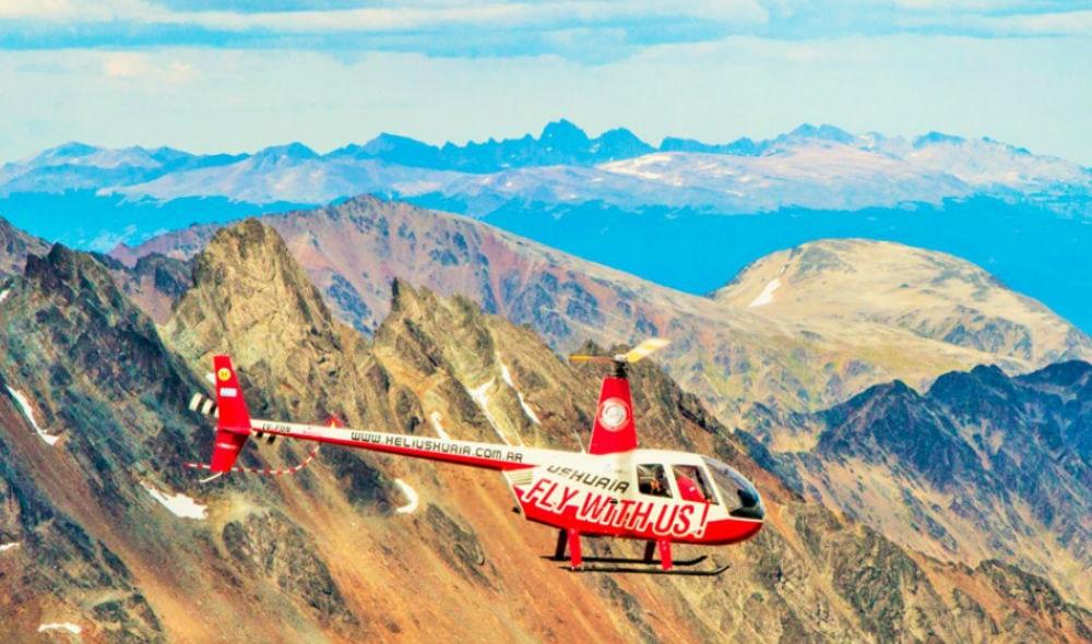 helicóptero em Ushuaia
