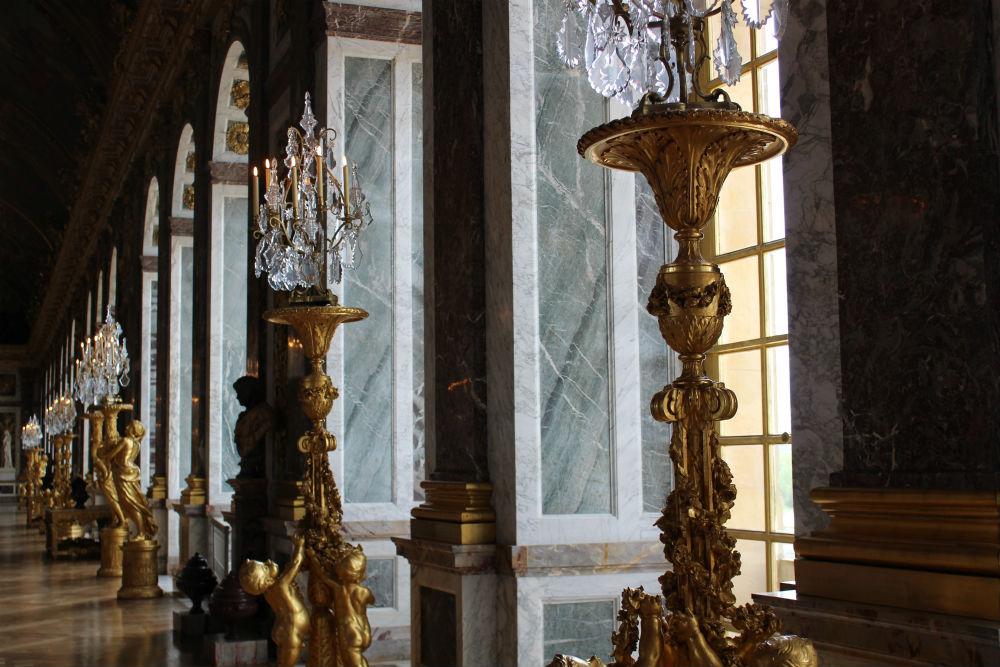 interior palácio de Versalhes